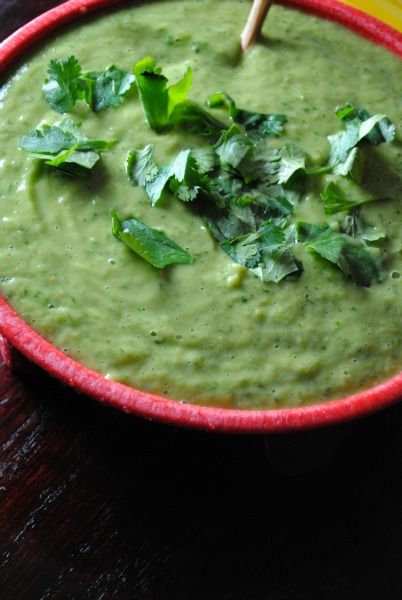 avocado tomatillo salsa 0191 Avocado Tomatillo Salsa sponsored spicy ...