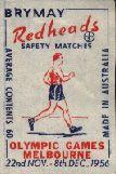 Walking - Australian Matchbox Labels