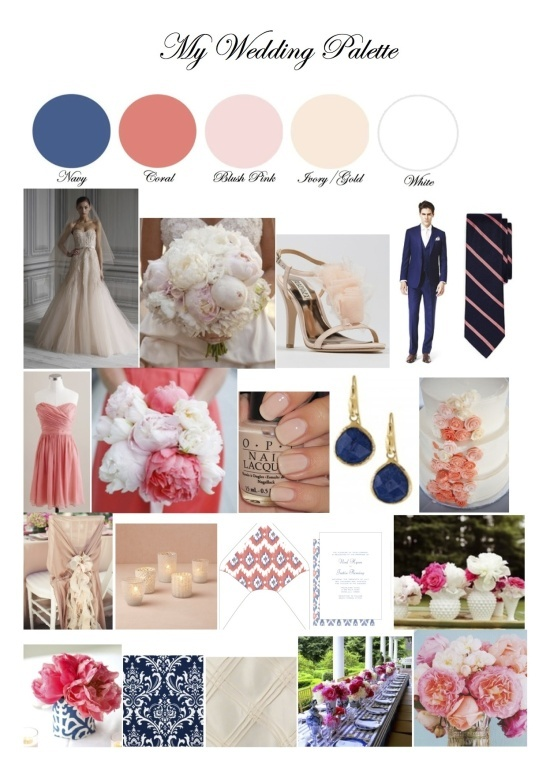 17 Best Images About Pink Coral Cream Champagne