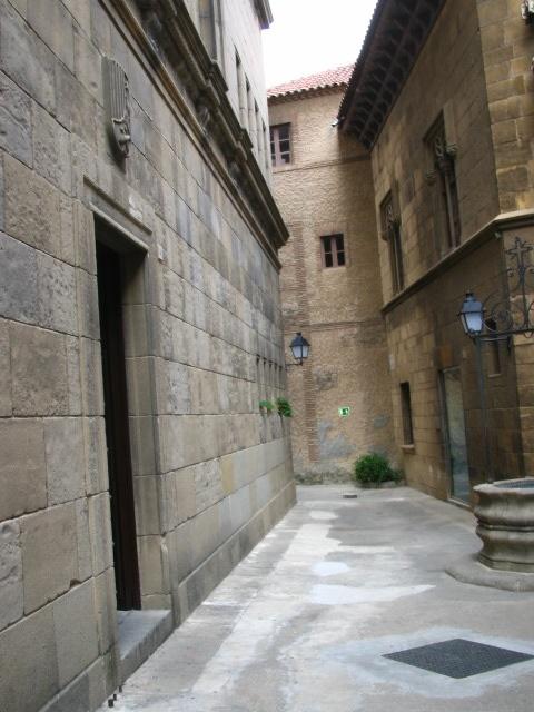 En el Pueblo Español de Barcelona.