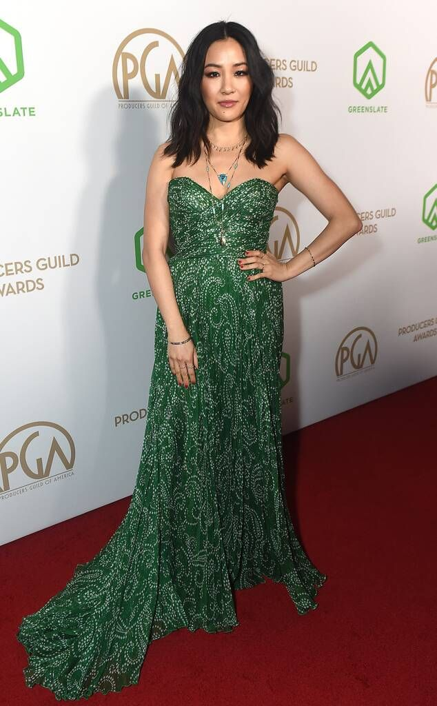 Constance Wu from Producers Guild Awards 2020: Red Carpet Fashion The  actress poses in a green gown. | Red carpet dresses best, Red carpet  fashion, Fashion