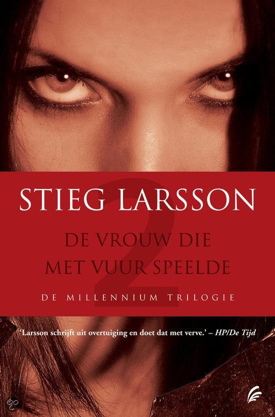 Millennium trilogy by Stieg Larsson. So intense