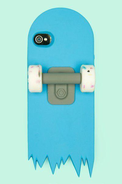 Capa para Iphone em forma de skate - Clube do skate
