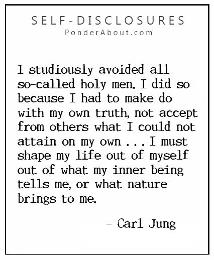 Carl Jung about Individuation one of my favorite quotes :)