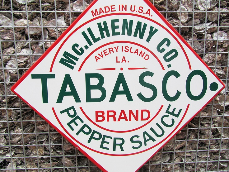 Oysters & Tabasco sauce = the perfect combination.