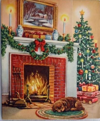 2601 Best VINTAGE GREETINGS CHRISTMAS Images On Pinterest