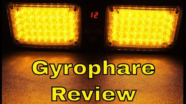 Gyrophare LED Orange de Pare-Soleil 12 modes idéal Pour Camion et Auto R...