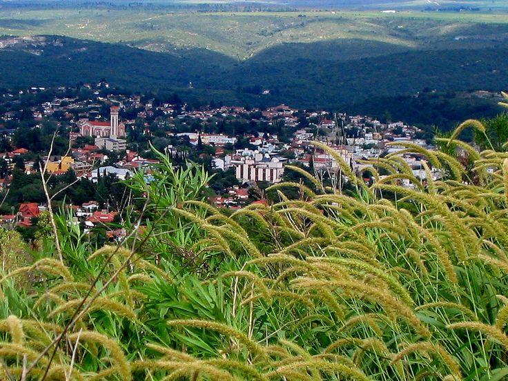 Vista de La Falda desde Cortafuegos