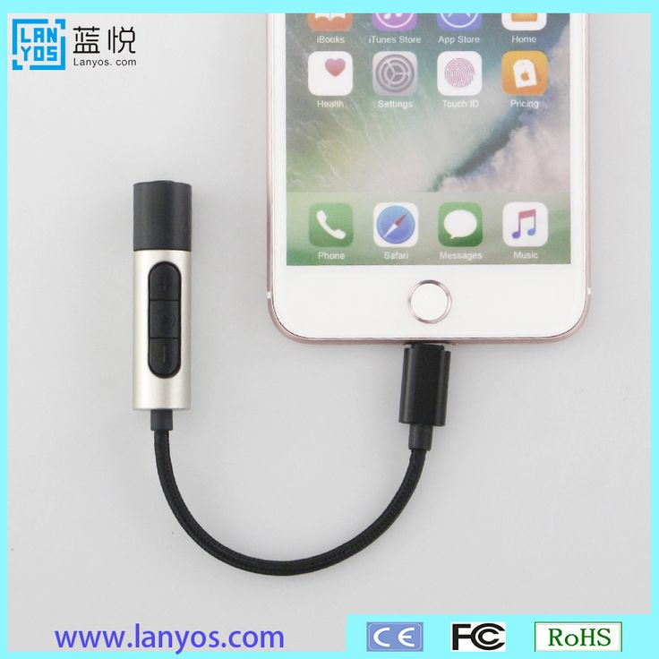 magnetic usb charging cable male lighting to 3.5 mm aux headphone adapter for iphone 7