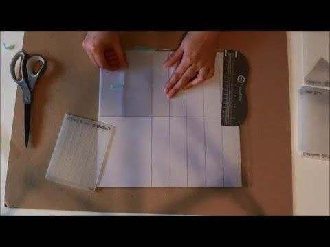 Embossing Folder Storage Using the Fuse Tool