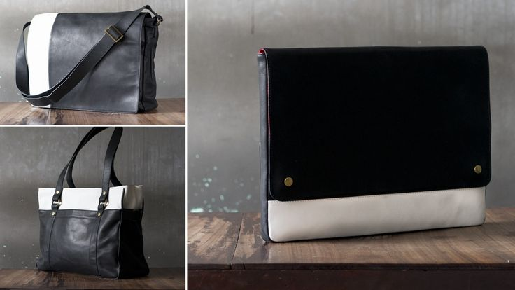 Fabulous, sustainable, leather bags project