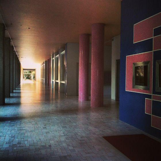 PIERO BOTTONI : Palazzo INA in Corso Sempione, 33  -  1953-1958