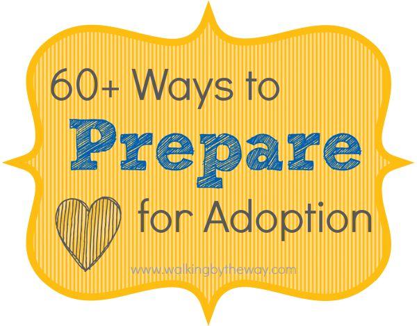 Adoption Preparation & Education Sooo many great resources!