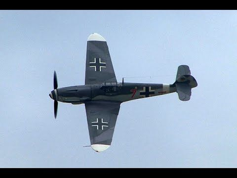 Messerschmitt Bf.109G-4 with the original Daimler Benz 605 A Engine. Crank up the volume and enjoy the great and rare sound!- YouTube