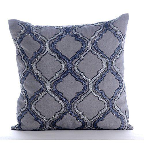 Designer Grey Decorative Pillows Cover, Lattice Trellis T... https://www.amazon.com/dp/B00VDDLJ8U/ref=cm_sw_r_pi_dp_x_HrFdybJDVSEKF