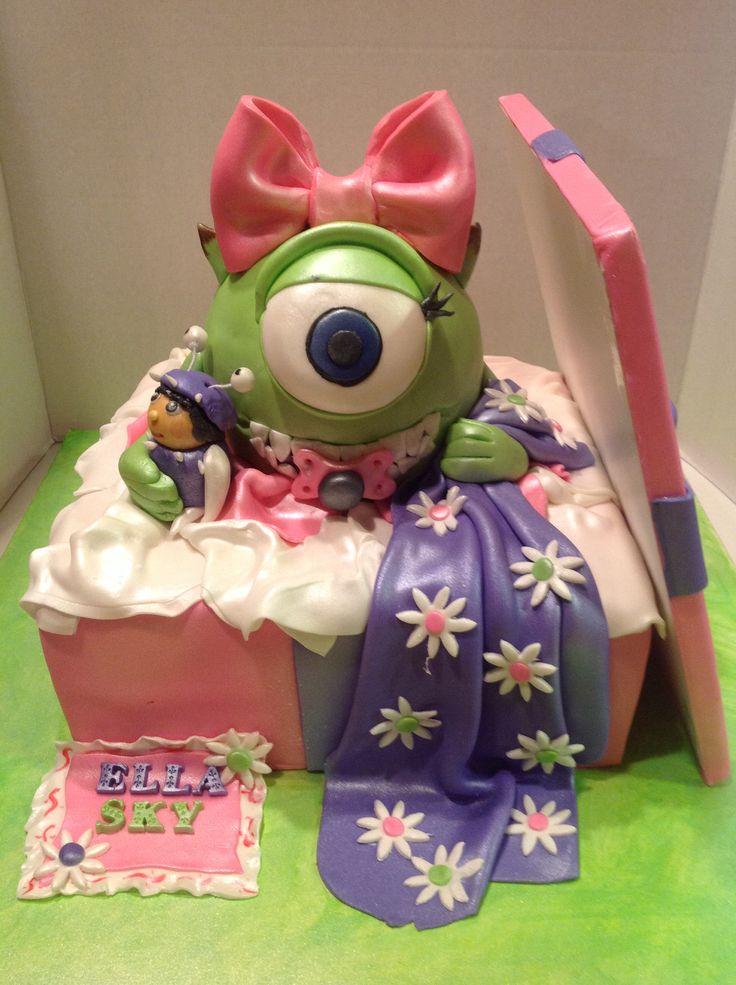 Monster Inc...baby Shower Cake