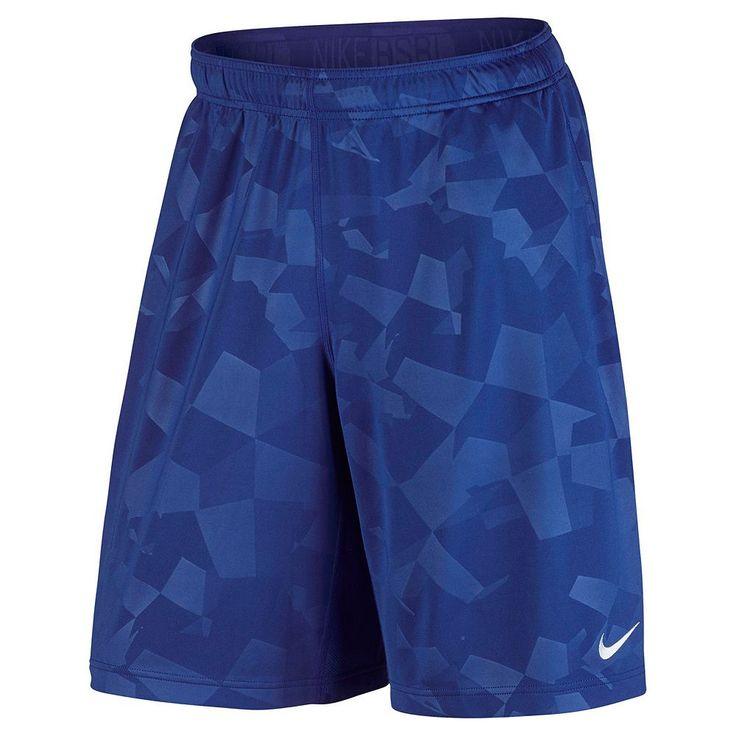 Men's Nike Baseball Shorts, Size: Medium, Blue Other