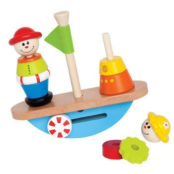 Hape Balance Boat.  ECA LISTING BY Made In The UK, Bexhill On Sea, United Kingdom