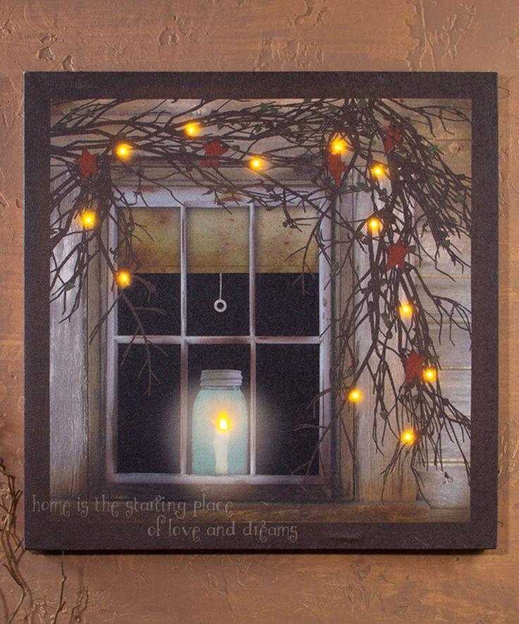 Illuminate Canvas Paintings For Christmas Diy