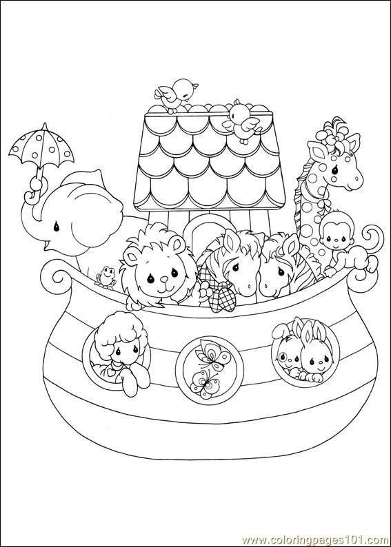 Noah Ark Coloring Pages For Preschoolers Precious Moments 05 Noah S Ark R Image File Precious Moments Coloring Pages Coloring Books Coloring Pages For Kids