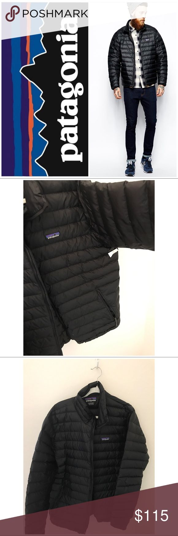 Patagonia, down sweater jacket, xl, black Its time to start thinking about fall. Bought this for my son at patagonia outlet, and it did not fit. Patagonias, down sweater jacket, xl, black.🚫no trades.The perfect warmth for just about everything, our classic Down Sweater is lightweight and windproof with a 100% recycled polyester ripstop shell and 800-fill-power Traceable Down (goose down traced from parent farm to apparel factory to help ensure the birds that supply it are not force-fed or…