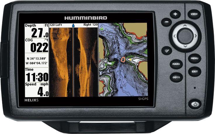 Humminbird Helix 5 SI GPS Fish Finder (4096401) Fish