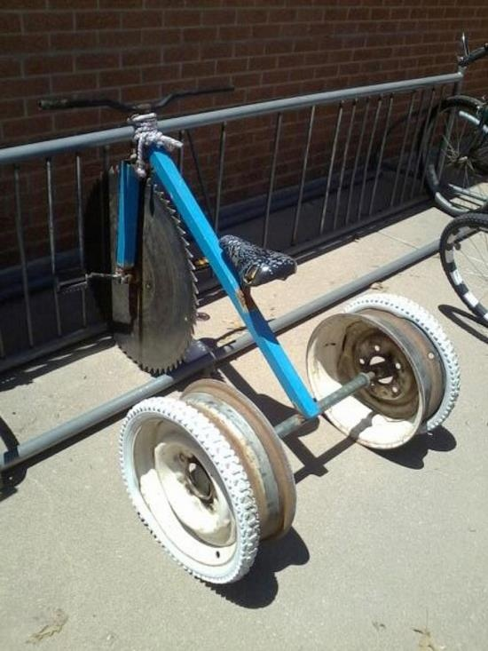 Really bad mood bike!