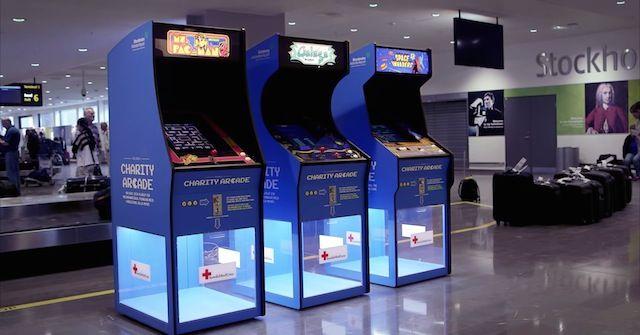 Charity Arcade Machines - Brilliant idea