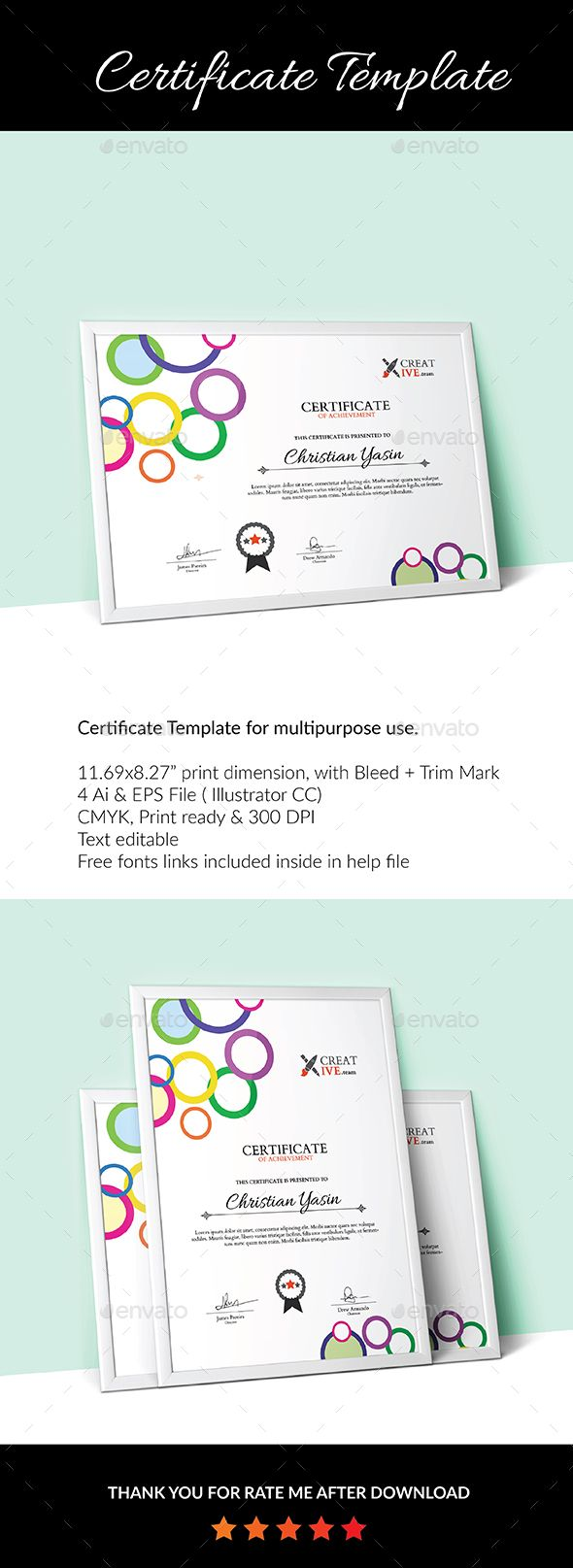 Certificate Template_04 - Certificate Template Vector EPS, Vector AI. Download here: http://graphicriver.net/item/certificate-template_04/15205925?s_rank=27&ref=yinkira