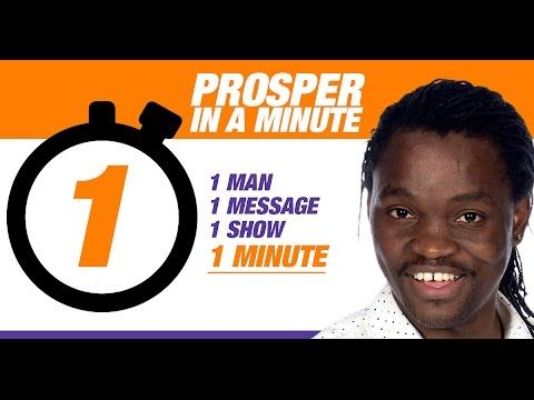 [PROSPER IN A MINUTE] Episode 57:-  How to Play The Content Long Game?