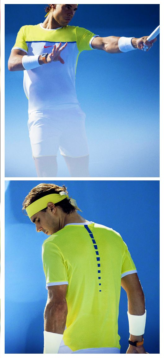 Rafael Nadal's new Nike Challenger Premier Tennis Crew is now available! Get his gear here: http://www.tennis-warehouse.com/player.html?ccode=RNADAL
