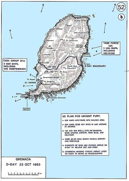 CH-53D HMM-261 Grenada Okt1983 - Invasion of Grenada - Wikipedia, the free encyclopedia