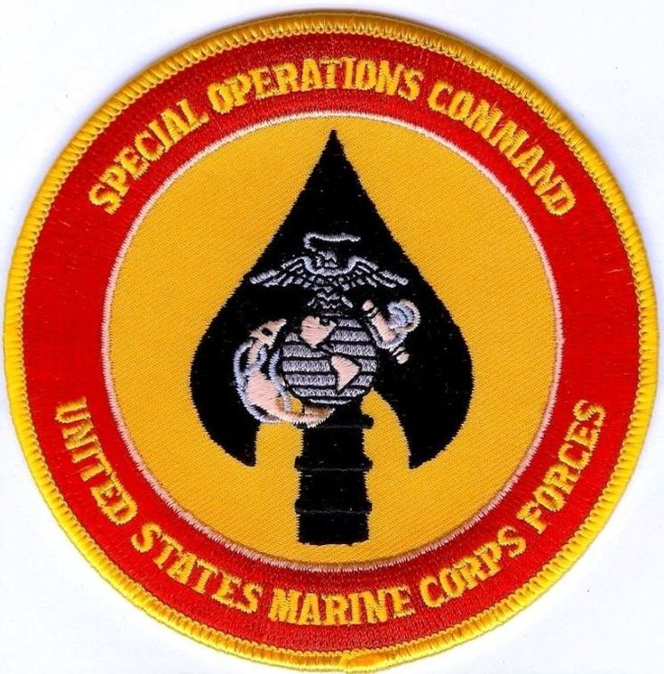 USMC Special Operations Command PATCH Marine Corps Forces Spec Ops Cmd ! Marines