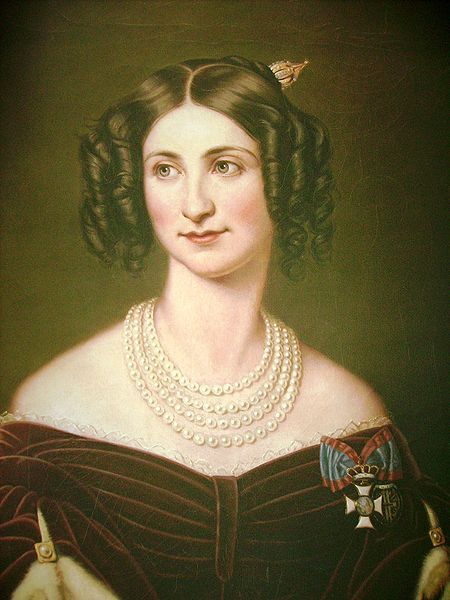 Portret Eugenie von Hohenzollern-Hechingen (1808-1847)
