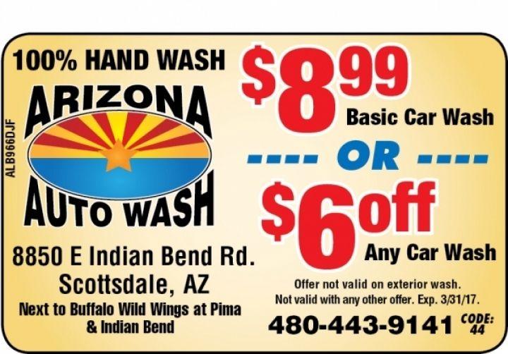 Minute Express Car Wash Coupon