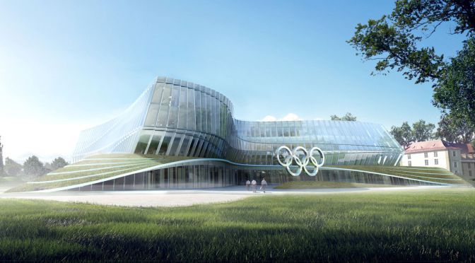 New International Olympic Committee HQ