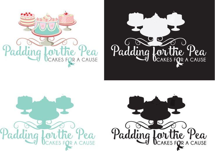Padding for the Pea logo design