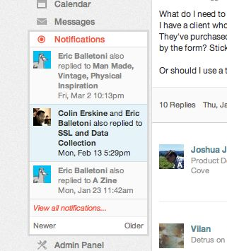 notifications ux design - Google претрага