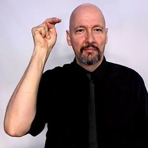 """nephew"" American Sign Language (ASL) twist n twice"