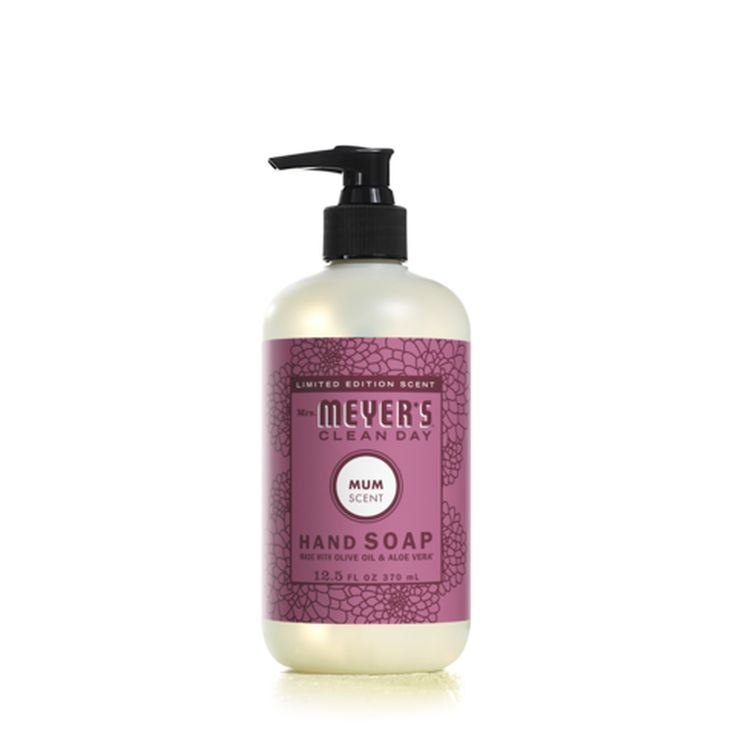 Mrs Meyer S Mum Liquid Hand Soap 12 5 Fl Oz Cleaning Day