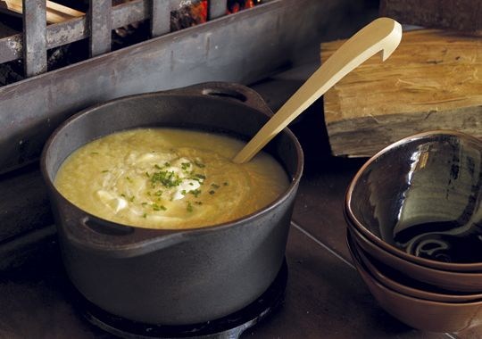 This Potato and Leek soup is a classic, and so easy to make!