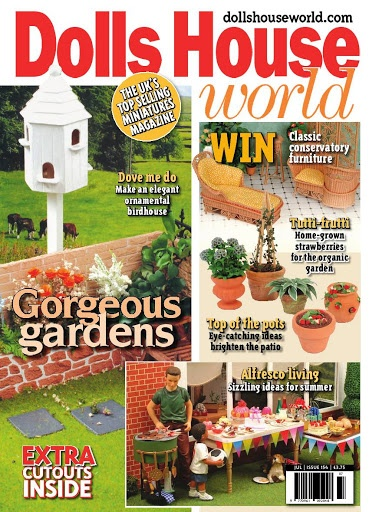 INSTRUCTIONS FOR SEE-SAW AND STRAWBERRY PLANTS - Dolls House World Jul-05