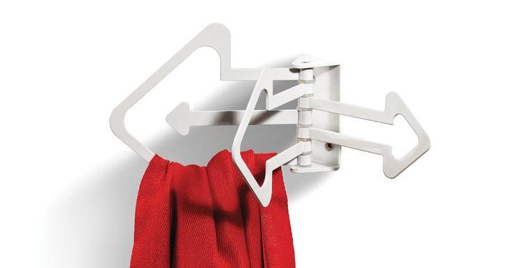 Funkcjonalny wieszak, który sprawdzi się zarówno w łazience jak i w przedpokoju. #wieszakdołazienki #wieszaknaręczniki