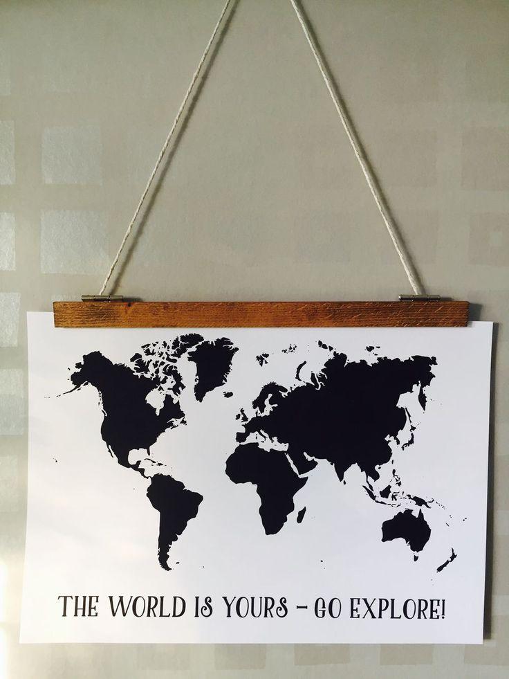 DIY Posterhållare För några månader sedan köpte jag en fin posterhållare på Lagerhaus, ett smidigt sätt att fästa sina posters och planscher och lätt att byta ut planschen. Efter att jag haft den hängandes på väggen…