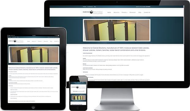 Cubicle Solutions of Pietermaritzburg had their website developed by The Fluence Agency.