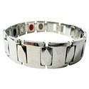 Tungsten Bracelet - Silver Plain Tab Design (Men/Women)