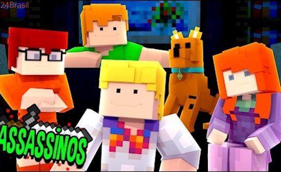 Minecraft: SCOOBY DOO ASSASSINO! (Assassinos)