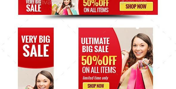 15 Best Sale HTML5 Ad Banners Templates - http://www.designsave.net/2016/11/sale-html5-ad-banners-templates.html
