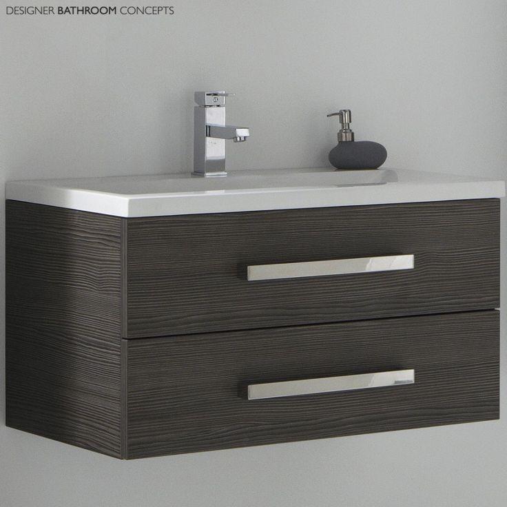 bathroom cabinet online design tool%0A Aquatrend Designer Bathroom Vanity Unit  Main Image