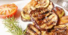 Fabulosa receta para Verduras Grilladas sabor oriental. Una forma diferente de hacer las verduras. Realmente recomendable. El sabor que se logra es delicioso.  Aqui utilicé una bifera acanalada, pero también se pueden hacer a la parrilla.
